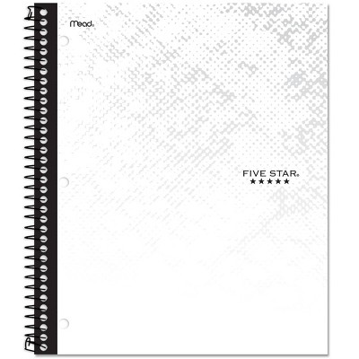 Five Star 1 Subject College Ruled Spiral Notebook by Five Star