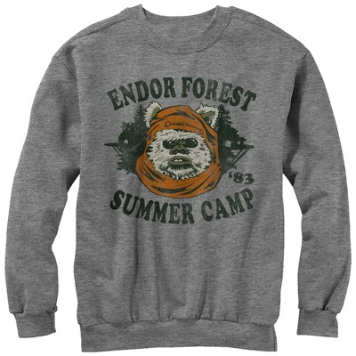Men's Star Wars Ewok Summer Camp Sweatshirt