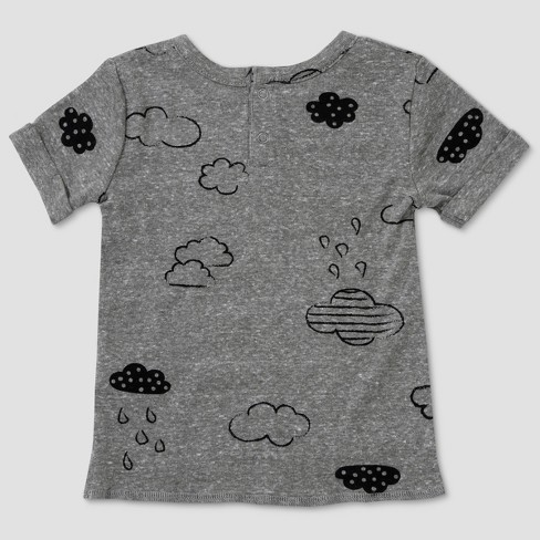 97488068c32a Baby Boys  Afton Street Short Sleeve T-Shirt - Drizzle 18 M   Target