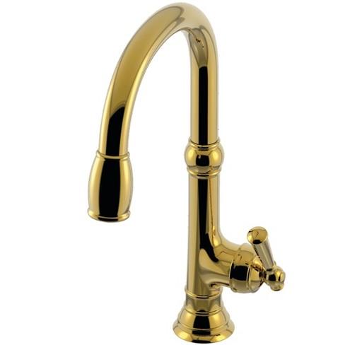 Newport Brass 2470-5103 Jacobean Kitchen Faucet - Forever Brass (PVD)