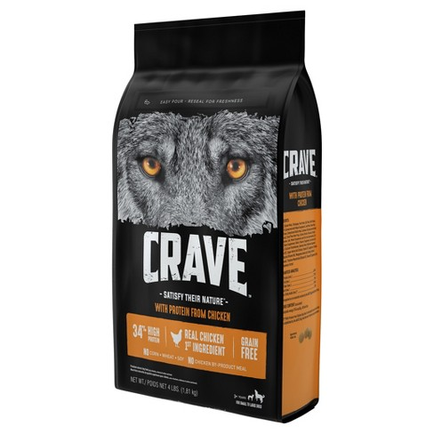 Crave Grain Free Adult Dry Dog Food With Protein From Chicken Target