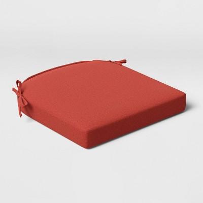 Outdoor Rounded Seat Cushion DuraSeason Fabric™ Sienna - Threshold™