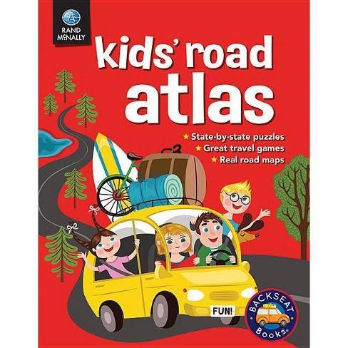 Kids' Road Atlas - (Paperback) - image 1 of 1