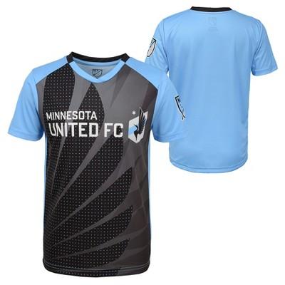 3ce76e34d MLS Boys Poly Jersey Minnesota United FC