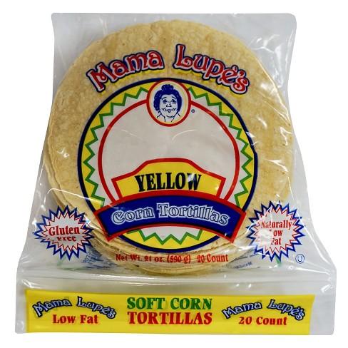 Mama Lupes Yellow Corn Tortilla Soft Corn Tortillas - 20ct - image 1 of 1
