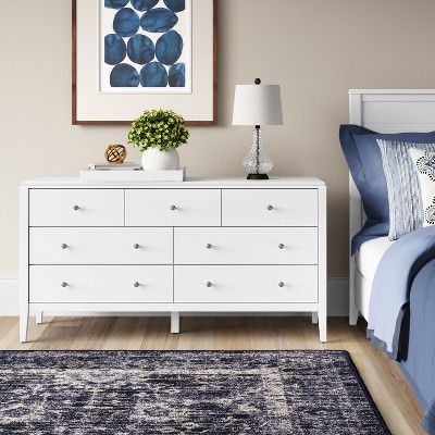 Pelham Horizontal Dresser White   Threshold™ : Target