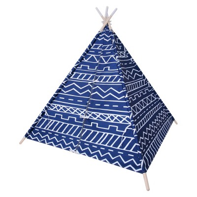 Teepee Southwest Blue Overalls - Pillowfort™