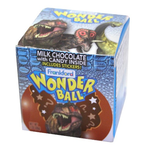 Frankford Wonder Ball Milk Chocolate Candy 1oz Target