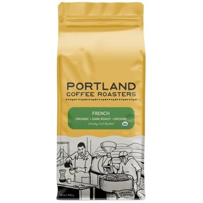 Portland Coffee Roasters Organic French Ground Coffee - 12oz