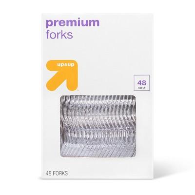 Premium Plastic Forks - 48ct - Up&Up™
