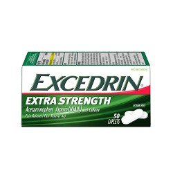 Excedrin Extra Strength Pain Reliever Caplets - Acetaminophen/Aspirin (NSAID)