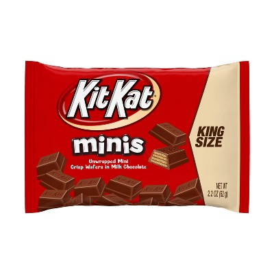 Kit Kat King Size Minis Crisp Wafers in Milk Chocolate Bag - 2.2oz