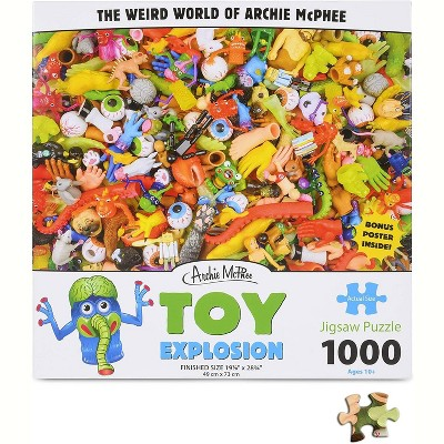 Accoutrements Toy Explosion 1000 Piece Jigsaw Puzzle