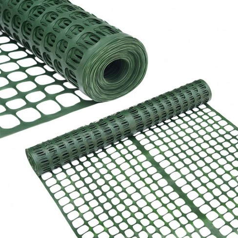 Abba Patio 4 x 100 Feet Multipurpose Recyclable Plastic Netting, Dark Green - image 1 of 4