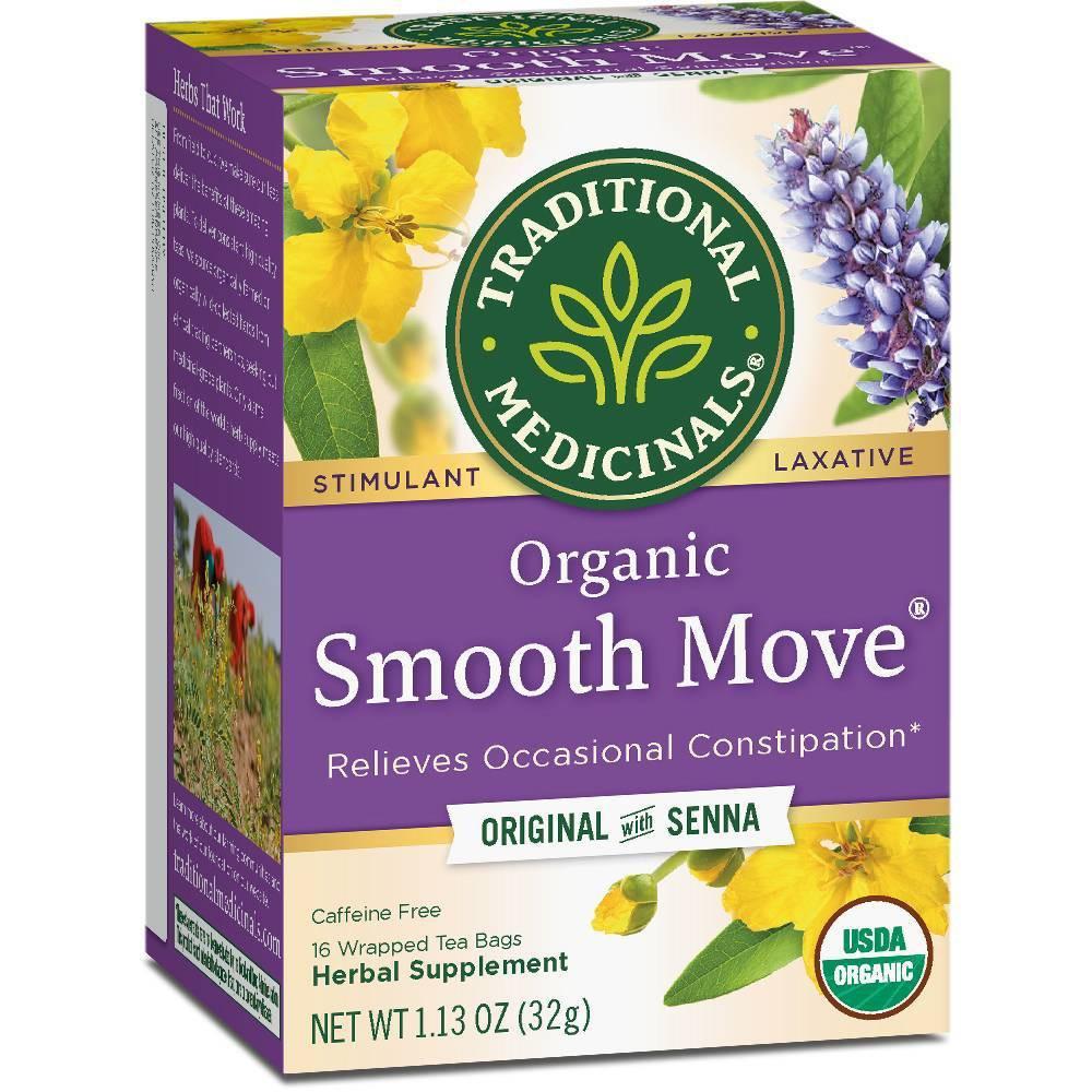 Traditional Medicinals Smooth Move Herb Tea 16ct