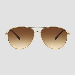 Women's Aviator Metal Sunglasses - A New Day™