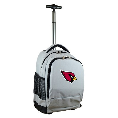 NFL Mojo Premium Wheeled Backpack - Gray