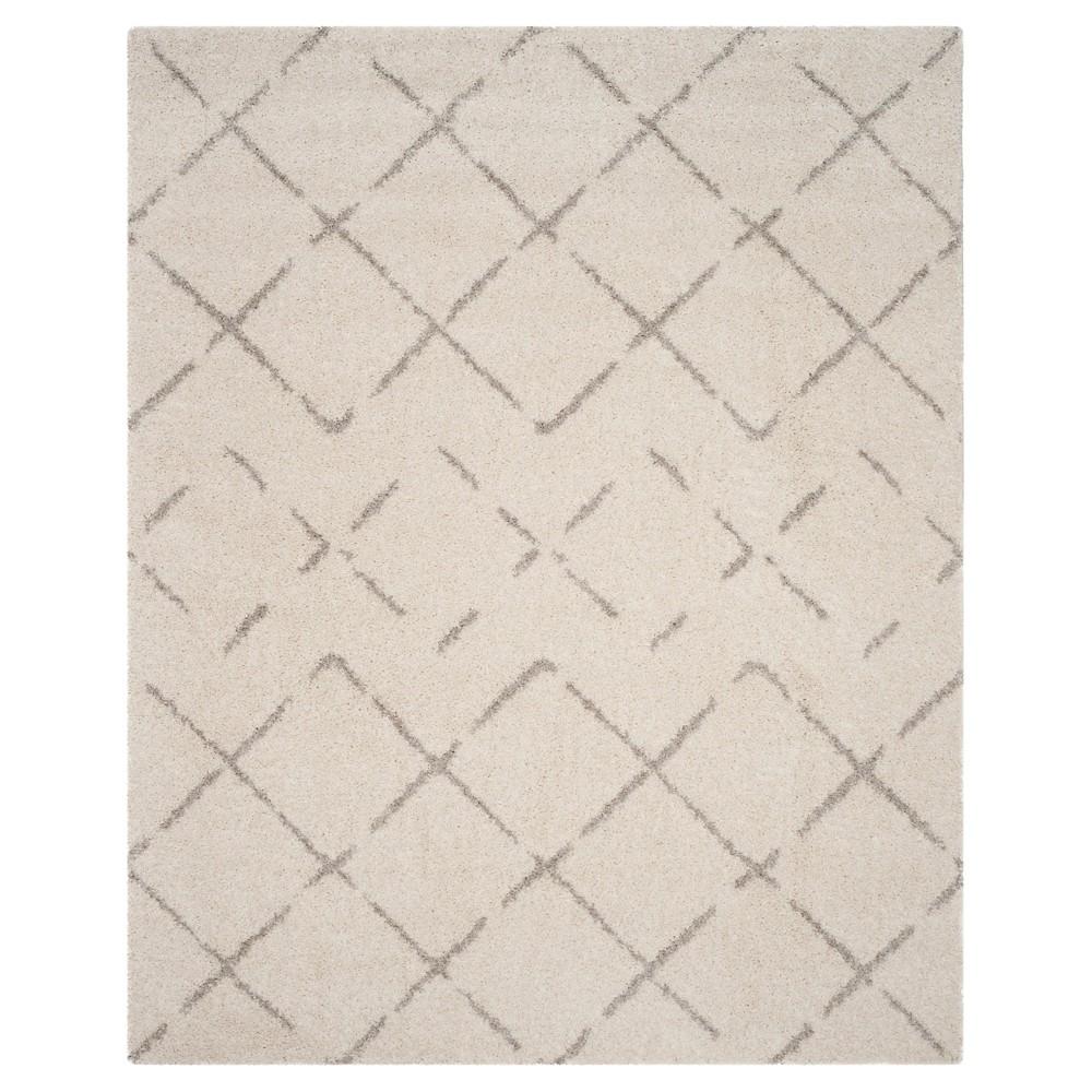 Ivory/Beige Abstract Loomed Area Rug - (8'x10') - Safavieh