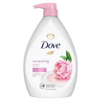 Dove Renewing Peony & Rose Oil Nourishing Body Wash - 34 fl oz