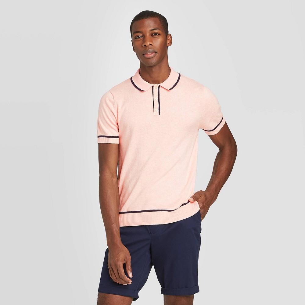 Mens Vintage Shirts – Retro Shirts Men39s Standard Fit Short Sleeve Polo Shirt - Goodfellow 38 Co8482 $19.99 AT vintagedancer.com