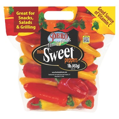 Mini Sweet Peppers - 1lb Bag