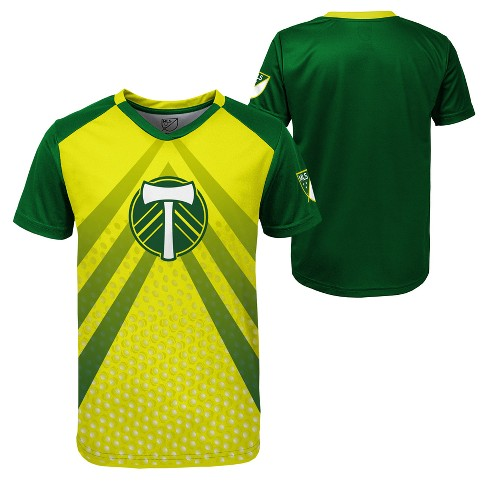 8db6257a3d7 Boys  Short Sleeve Game Winner Sublimated Performance T-Shirt Portland  Timbers