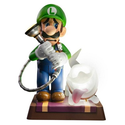 """First 4 Figures: Luigi's Mansion 3: Luigi and Polterpup 9"""" PVC Statue Collector's Edition"""