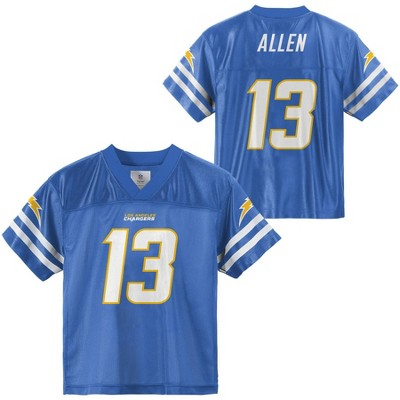 NFL Los Angeles Chargers Boys' Keenan Allen Short Sleeve Jersey