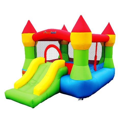 Brilliant Bounceland Castle Bounce House Home Interior And Landscaping Sapresignezvosmurscom