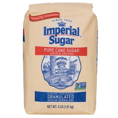 Imperial Granulated Pure Cane Sugar - 4 lb