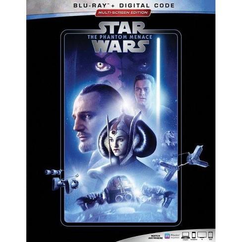 Star Wars The Phantom Menace Blu Ray Digital Target