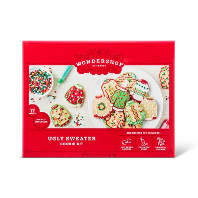 Vanilla Ugly Sweater Cookie Kit 172oz Wondershop Target
