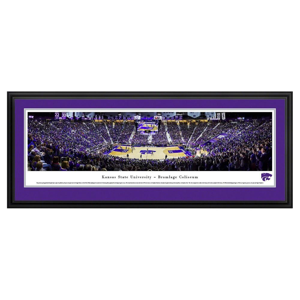 NCAAKansas State Wildcats BlakewayBasketball Arena View Framed Wall Art, Kansas State Wildcats