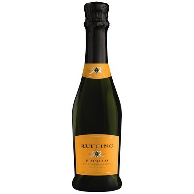 Ruffino Prosecco DOC Italian White Sparkling Wine - 375ml Bottle