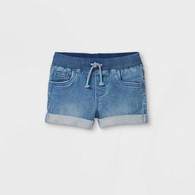 Toddler Girls' Pull-On Jean Shorts - Cat & Jack™ Medium Wash