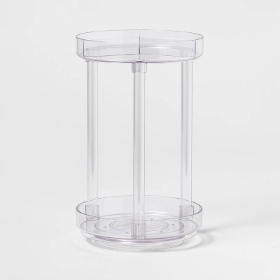 Spinning Turntable Makeup Organizer Clear - Made By Design™