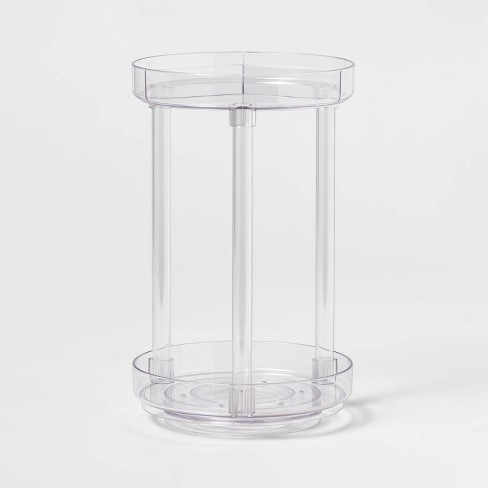 Spinning Turntable Makeup Organizer Clear - Made By Design™ - image 1 of 4