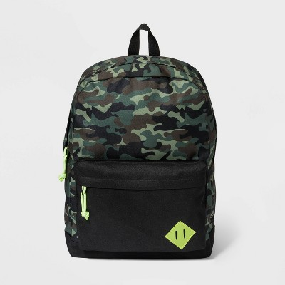 Kids' Camo Print Backpack - Cat & Jack™ Green