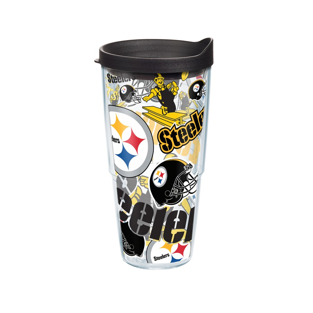 NFL Pittsburgh Steelers Tervis 24oz All Over Tumbler
