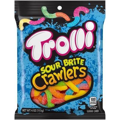 Trolli Sour Brite Crawlers Original Gummy Candy - 4oz