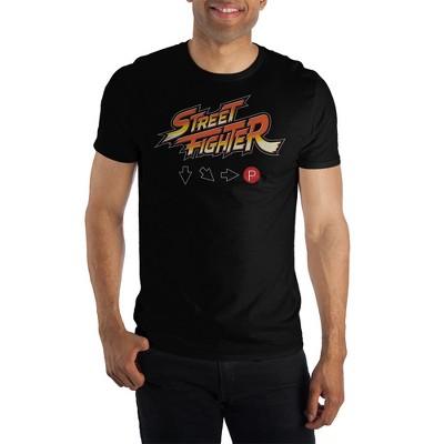 Street Fighter Logo Hadouken T-Shirt