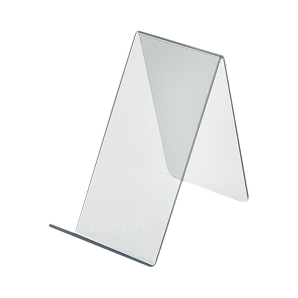 Azar 3.5 x 7.5 x 6.5 Easel Display 10ct, Clear