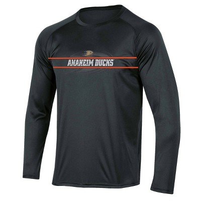 NHL Anaheim Ducks Men's Icing Long Sleeve Performance T-Shirt