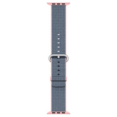 Apple® Watch Woven Nylon Band 38mm - Light Pink/Midnight Blue