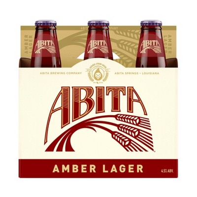 Abita Amber Lager Beer - 6pk/12 fl oz Bottles