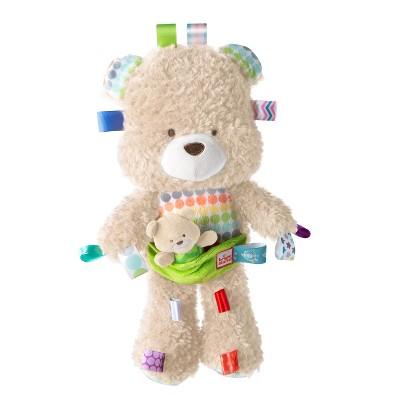 Bright Starts Snuggle & Play Taggies Bear