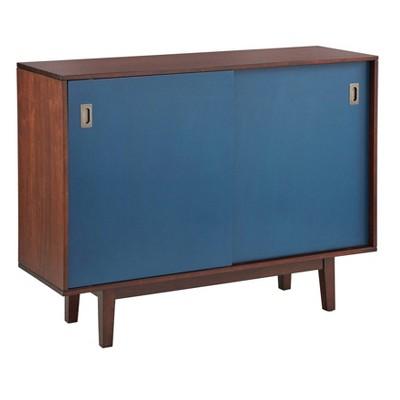 Menlo Console Table Walnut - Angelo Home