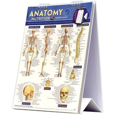Anatomy & Nutrition for Body & Health Easel Book - by  Vincent Perez (Poster)
