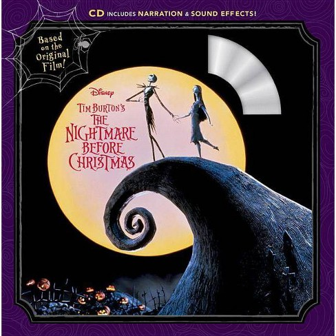 Nightmare Before Christmas ReadAlong Storybook and CD - by Disney - image 1 of 1