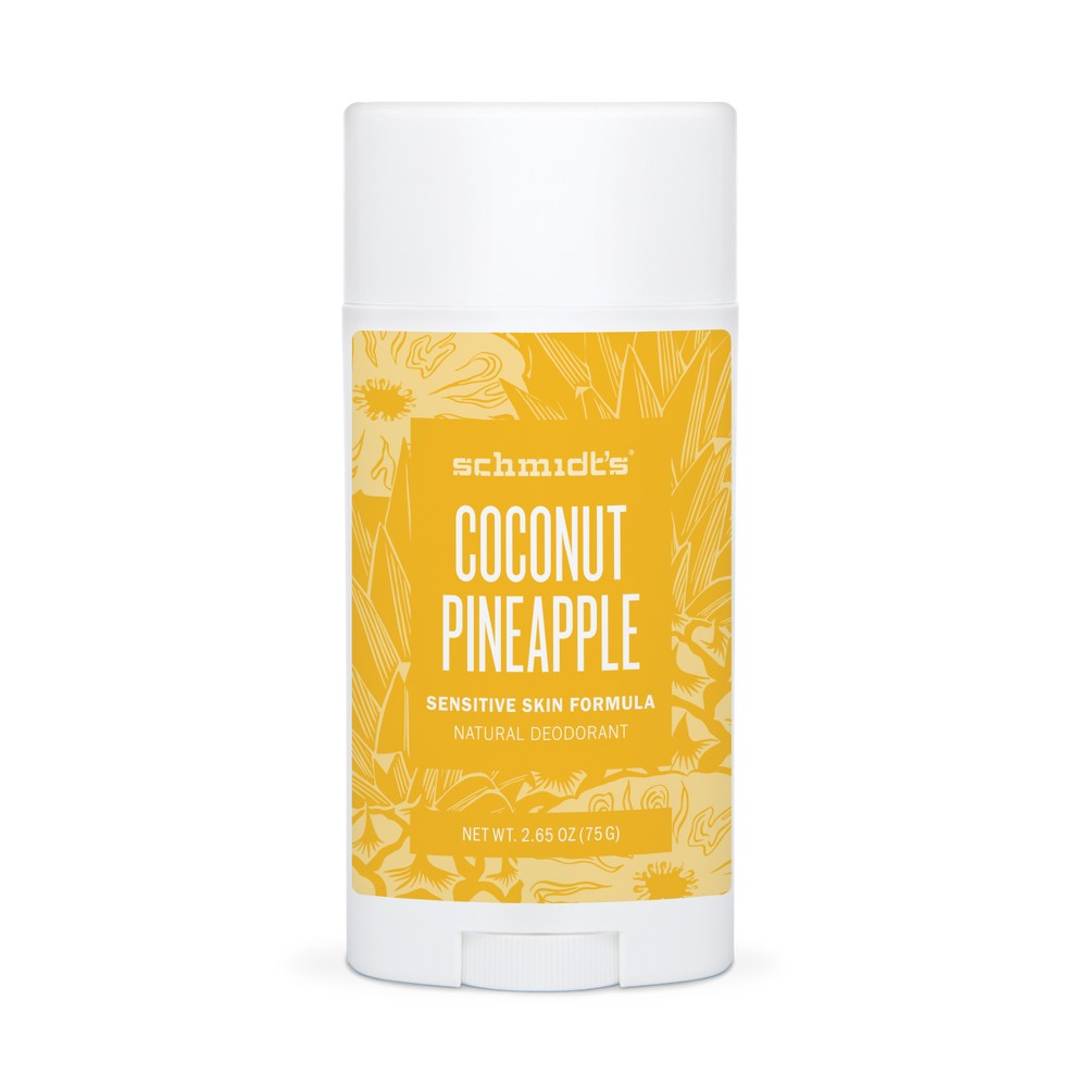 Schmidt's Coconut Pineapple Sensitive Skin Deodorant - 2.65oz